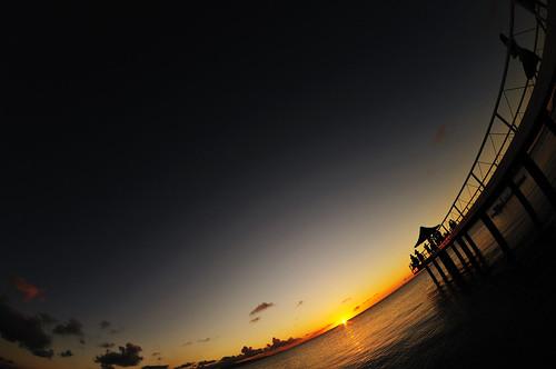 sunset sea summer orange beach japan landscape nikon 日本 okinawa 夏 夕日 海 風景 ishigaki オレンジ 石垣島 d300 ビーチ yaeyama 八重山 fusaki 八重山諸島 atx107dxfisheye1017mmf3545 フサキ