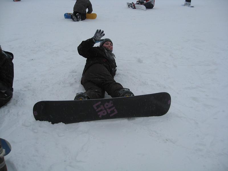 Snowboard @ Gleneden
