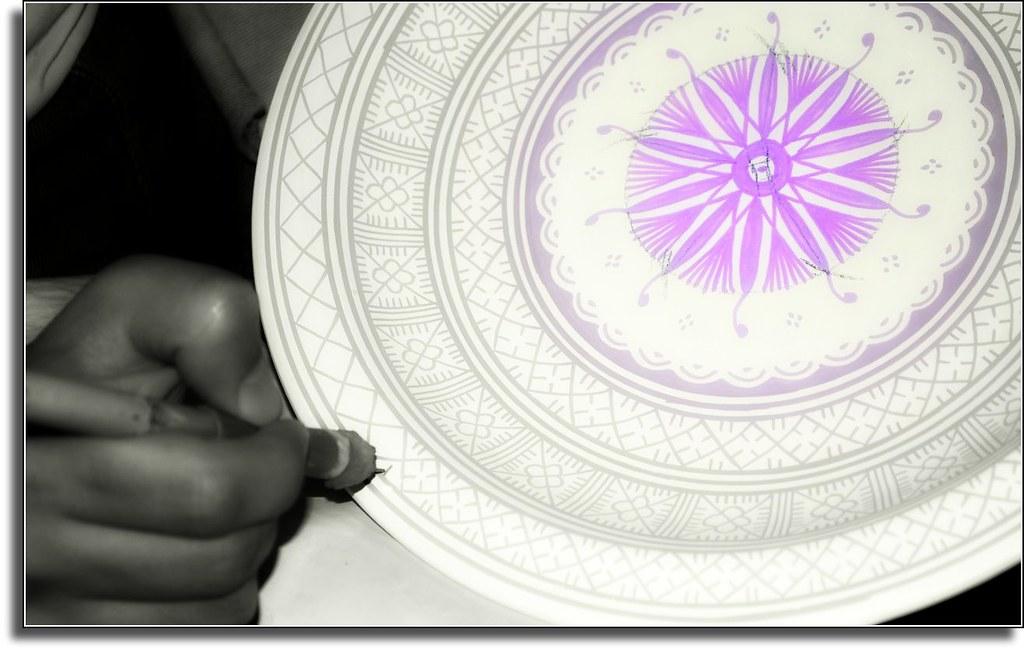 Colorando le ceramiche di fez marocco fez situata nel nou2026 flickr