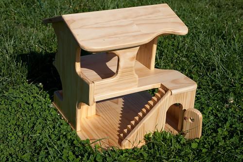 Wooden Doll House by Jason McKown