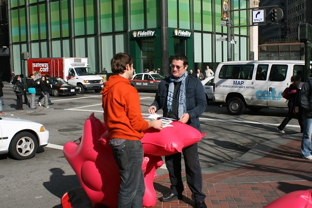 Bushwaffle turns fire hydrant into functional meeting spot