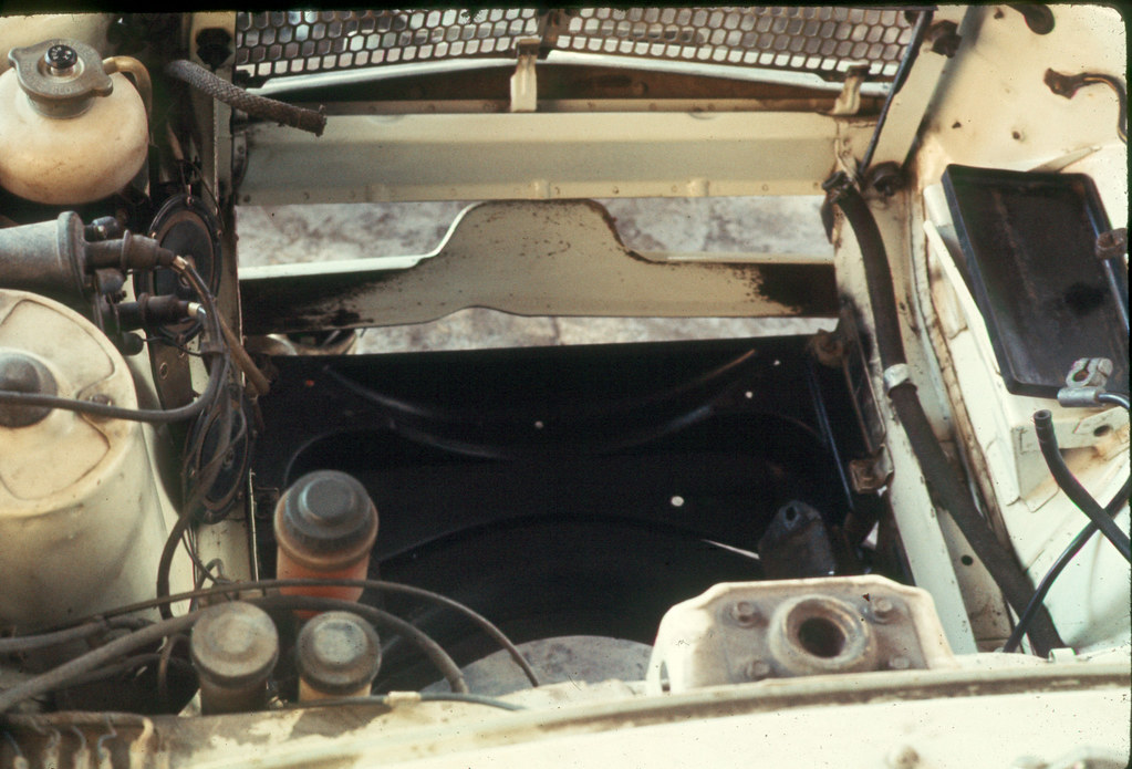 Mazda R100 Engine Compartment Empty | Roger Inman | Flickr