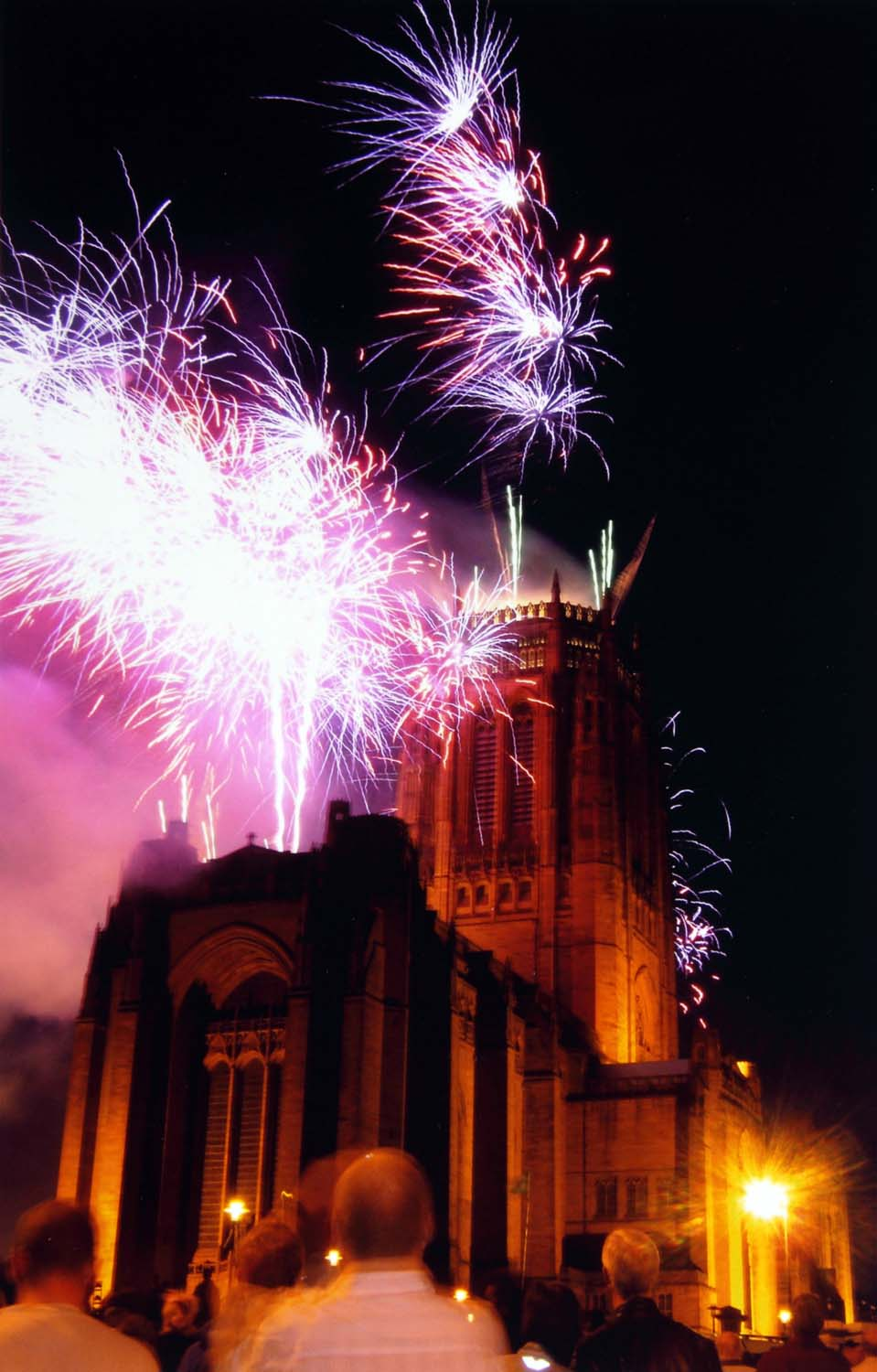 Fireworks,Liverpool,Anglican,Cathedral,firework,dusk,night,time,celebration,UK,England,Britain,north,west,tripod,shot,tripod shot,long,exposure,long exposure,this photo rocks,city,town,hotpics,hotpic,hotpick,hotpicks,merseyside,hotpix!