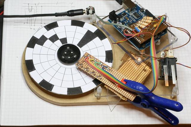 Arduino musical wheel
