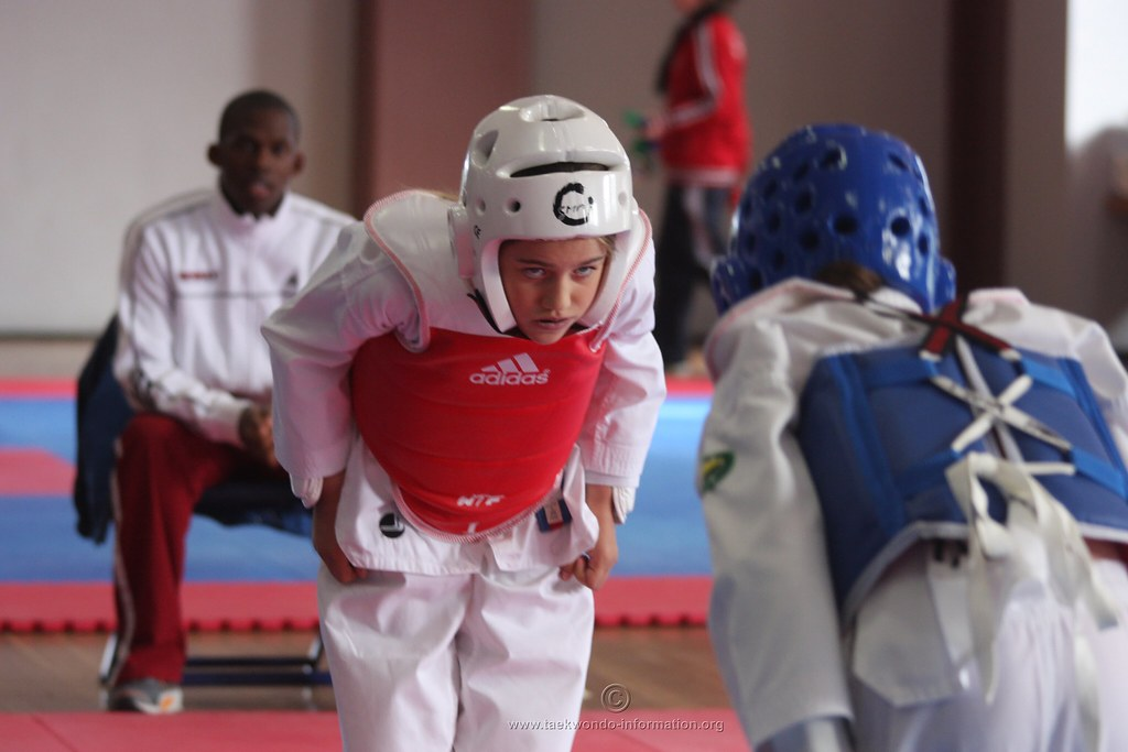 Taekwondo builds indomitable spirit | Taekwondo sparring fin