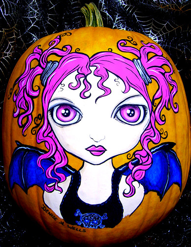 Halloween Girl by Denise A. Wells