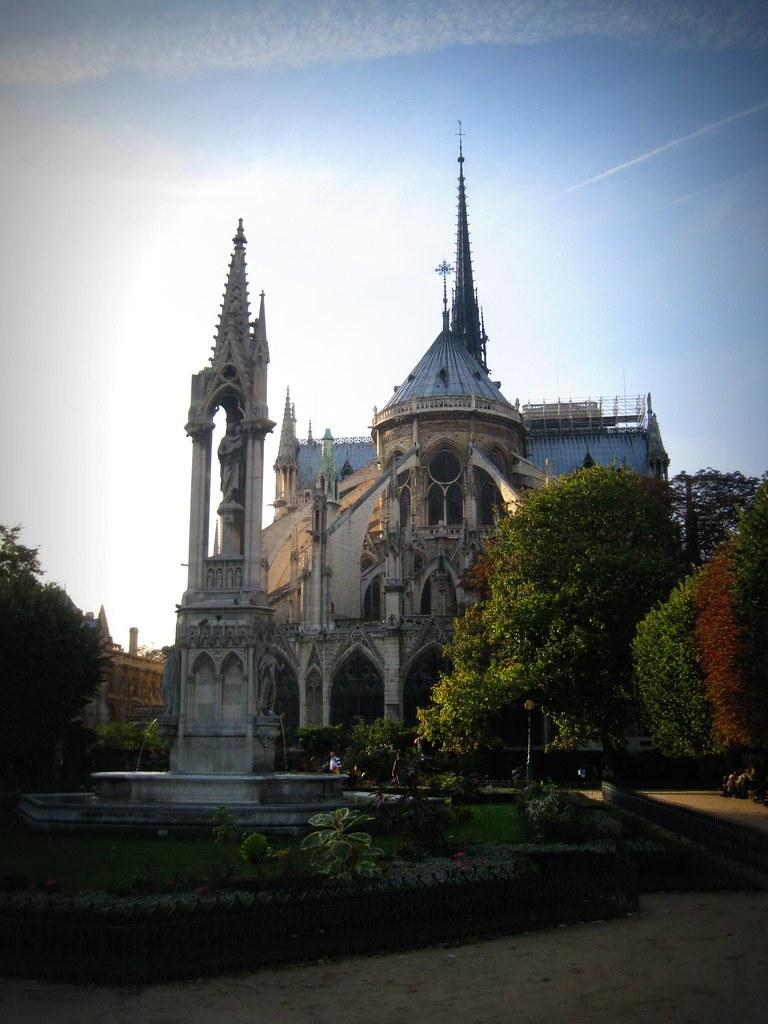 Notre Dame en automne