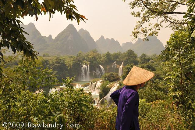 Detian Waterfall Guangxi China - 德天瀑布 -  广西 DSC_8464