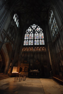 by the natural light : Gloucester Cathedral