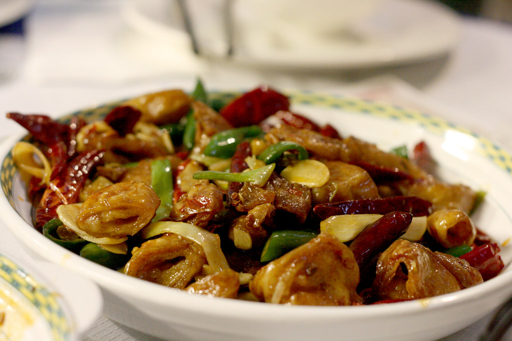 Hot & Chilli Crispy Pork Intestine | Jonathan Brown | Flickr