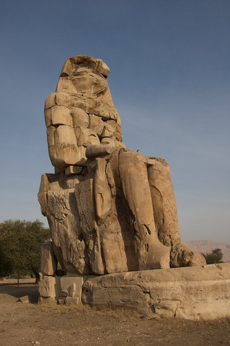 Colossi of Memnon | by Tom.Blackie