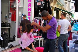 Chalon dans la Rue Street Haircut | by goingslowly