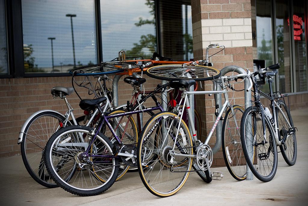 Bikes | This is how PBRS does bike racks  Highest bike ftw