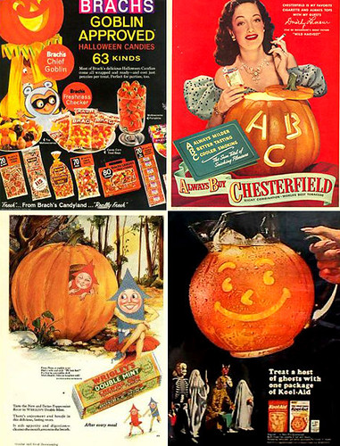 Vintage Halloween Ads.Vintage Halloween Ads Swelldesigner Flickr