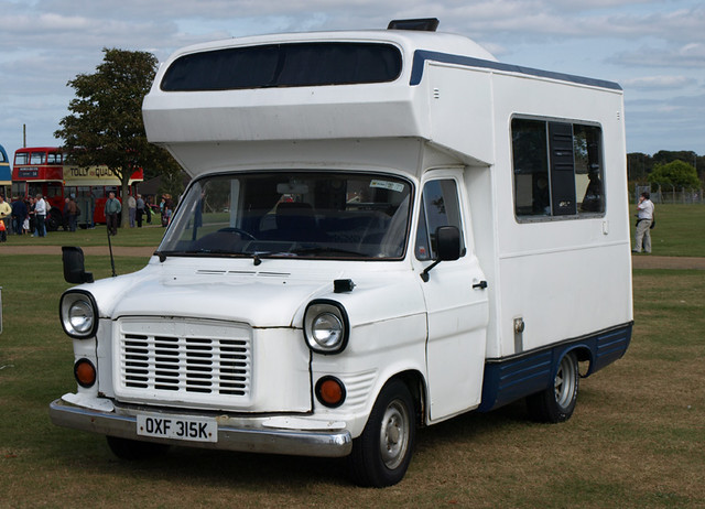 1971/72 Ford Transit Camper | Seen at Norfolk Gala Day, Sept… | Flickr