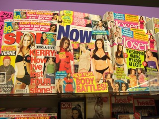 Day 13 of 365:  it amazes me how women's magazines are so body image conscious | by jaimelondonboy