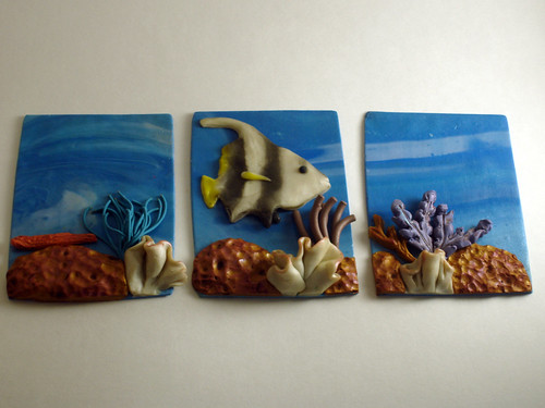 Seascape Artist Trading Cards