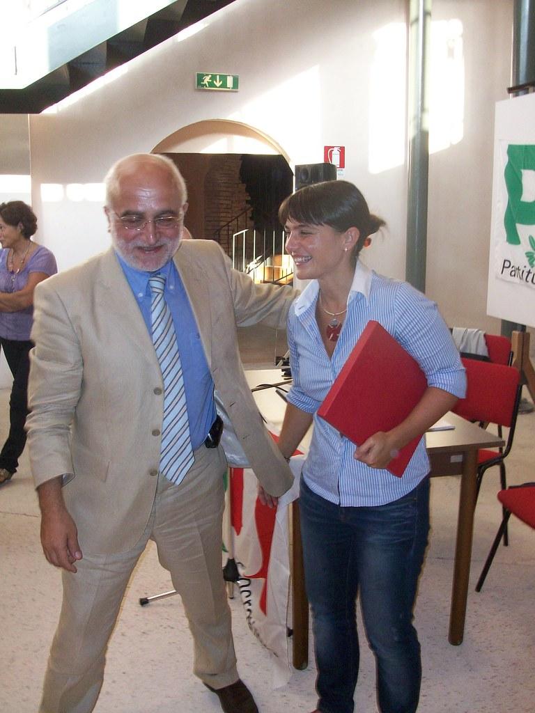 Debora Serracchiani a Loreto (30/8) | Debora Serracchiani