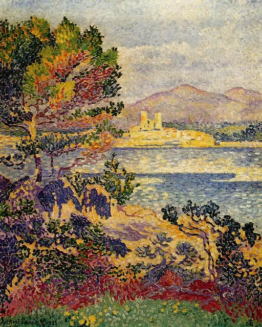 Henri Edmond Cross - Antibes, morning 1908 - pc