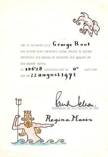 Shellback Certificate