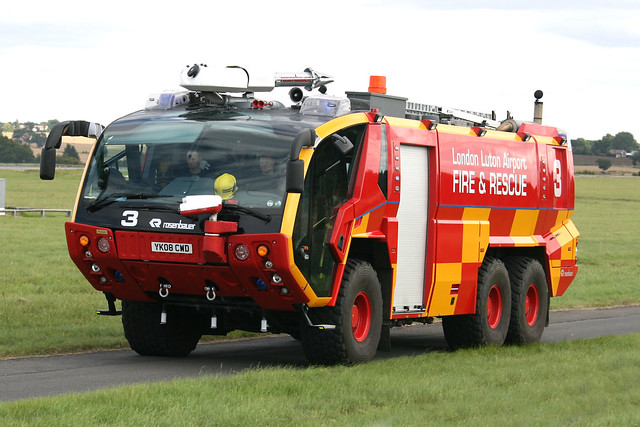 London Luton Airport Fire and Rescue 3 YK08CWD