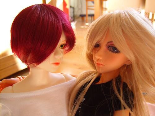 Naomi and Cara