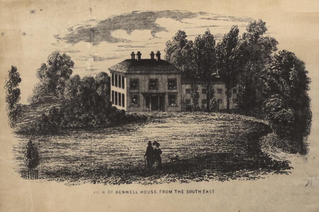 015425:Benwell House Benwell, Lane Benwell 1830