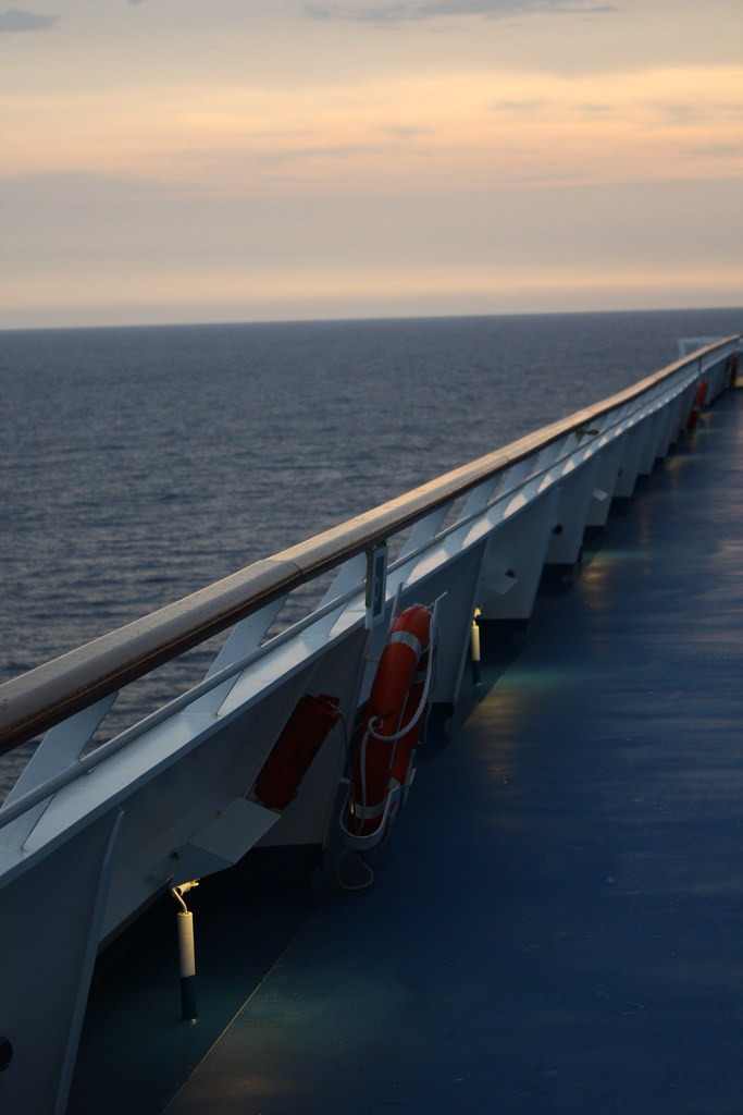 The Deck On Carnival Splendor