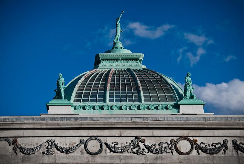 Memorial Hall dome