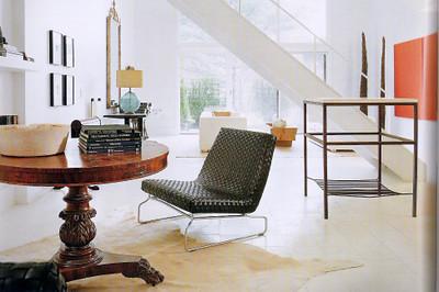 Fabulous Modern Mix Antiques Modern Furniture In Darryl Carters Theyellowbook Wood Chair Design Ideas Theyellowbookinfo