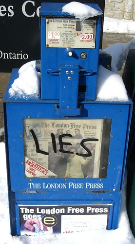 'LIES', From CreativeCommonsPhoto