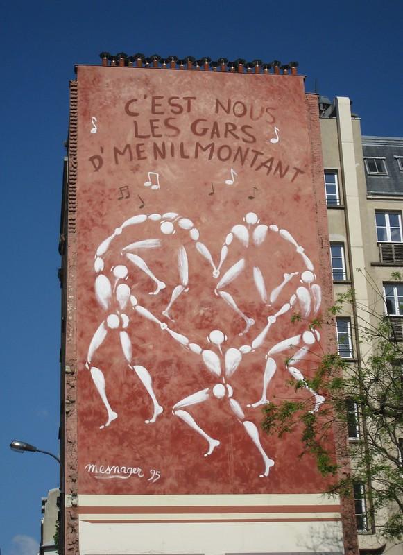 Rue de Menilmontant