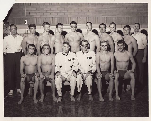 1966 U of M Swimming Team