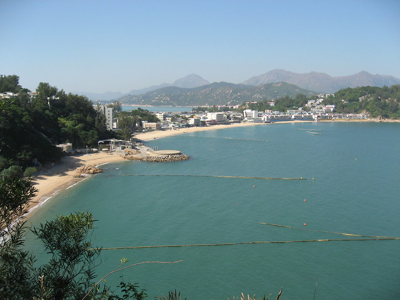 Beach on Cheung Chau Island