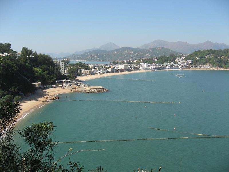 Beach on Cheung Chau Island