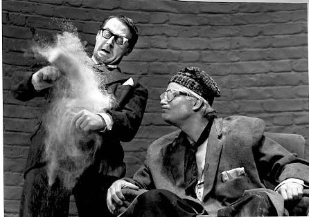 Forbes Masson (Clov) & John Castle(Hamm) - 'End Game' | by Tron Theatre, Glasgow