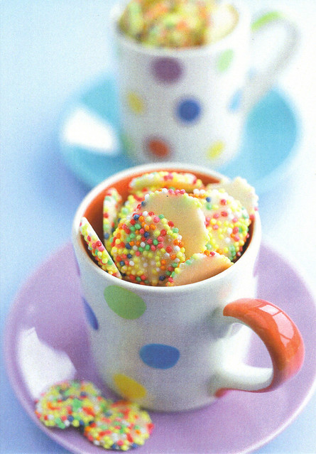 Cup of Sweets Postcard