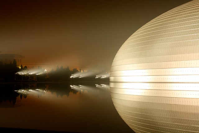 The National Center for Performing Arts in Beijing