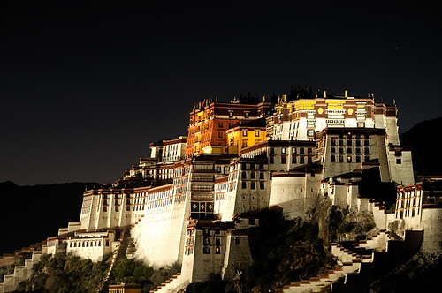 Potala Palace At Night | by Andy Hares