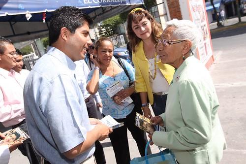DSC_0067 Conferencia de Prensa Asociación de Charros de Puebla A.C.D invitan al *Rodeo Lienzo Charro* por LAE Manuel Vela