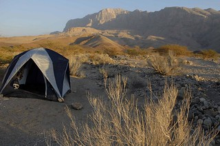 My very first camp sight in Oman 2008