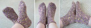 crocheted socks | by planetjune