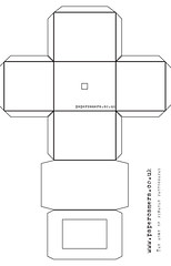 graphic about Camera Printable called paper digicam template This is the template for the pinhole