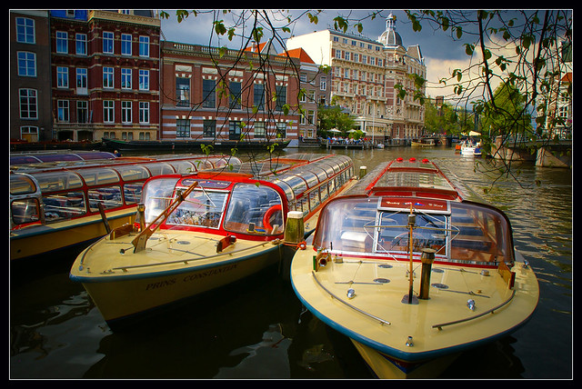 Amsterdam: close to the Europe Hotel