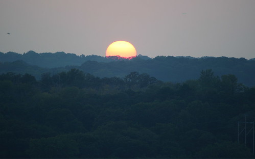 sunset minnesota wisconsin canon stcroix hudson