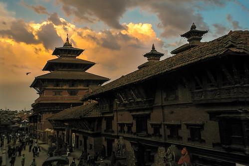 travel nepal winter sunset favorite canon outdoors earthquake asia best backpacking quake kathmandu nepalese np patan nepali 4star durbarsquare 2015 worldheritagemonument centralregion