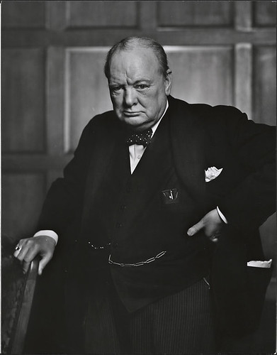 Sir Winston Churchill | by BiblioArchives / LibraryArchives