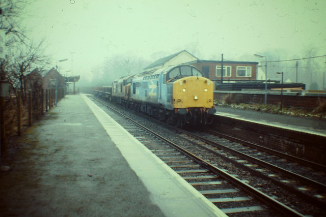 37501 and 37502 Shelton to Scunthorpe 25 Jan 1988