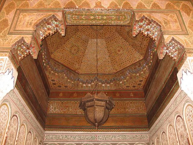 Plafond dans Dar Mnebhi