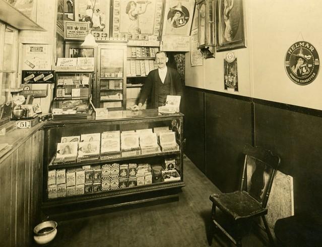 A Cigar Store and Its Proprietor